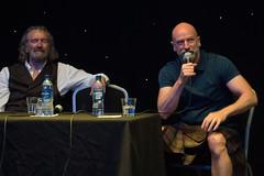 Q&A Panel (StephenieEloise) Tags: scotcon edinburgh outlander graham mctavish clive russell