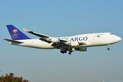TF-AMN Saudia Cargo Boeing 747-400 EHAM 14/9/16 (David K- IOM Pics) Tags: tf tfamn b744 boeing 747 747400 747400f saudi arabian cargo saudia sva eham ams amsterdam schiphol airport
