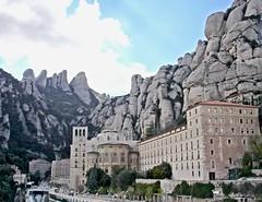 Benedictine Abbey at Montserrat (OSChris) Tags: montserrat spain monastery benedictine