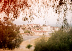 Porst SP The Norconian 2 () Tags: vintage retro classic film camera losangeles california riverside history west coast architcture porst photo quelle 35mm m42 slr germany chinon cosina japan tiltshift color