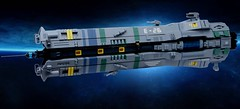 ENIGMA Deep Space (SweStar) Tags: shiptember 2016 lego scifi ship space spaceship community build exodus enigma carrier