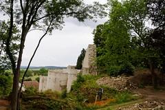 En cours de restauration... (Ombre&Lumiere) Tags: moselle lorraine plusbeauxvillagesdefrance citmdivalederodemack lapetitecarcassonnelorraine forteresse fortifications remparts citadelle paysdestroisfrontires