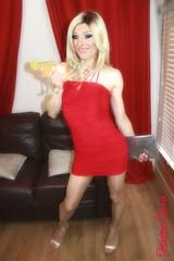 Happy Hour (jessicajane9) Tags: tv cd tg trans lgbt xdress m2f feminization transgender transvestite blonde