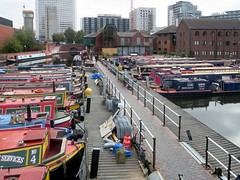 Gas Street Basin (D-Stanley) Tags: narrowboat canals birmingham england gasstreetbasin