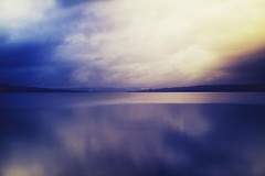 (sunniva.) Tags: blue winter red cold water rain yellow norway reflections dark seaside cloudy colorfull blues sigma stormy nestle hamar mjsa waterscape 30mm ndfilter helgya