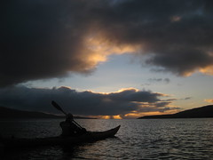 Into the Heart of the Sunrise (Jan Egil Kristiansen) Tags: ocean morning sea seascape clouds sunrise kayak yes horizon faroeislands hav sj trshavn i500 nlsoy havsbrn glyvursnes img4354 smkrus interestingness081 fo24