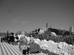 Battle of Crete (Rebla) Tags: lego wwii battle crete ww2 forced fp prespective