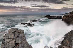 (Carlos J. Teruel) Tags: sunrise mar nikon mediterraneo murcia nubes rocas lightroom marinas d300 filtros xaviersam singhraydarylbensonnd3revgrad