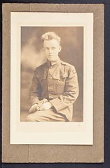 James D. Watson, Sr. World War I Portrait (CSHL Archives) Tags: portraits worldwari cshl jamesdwatson moderngeneticsanditsfoundations