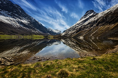 Reflector (bgspix) Tags: travel sky lake snow reflection nature water norway canon landscape mirror reflect symetry paysage reflexions moutain 2012 geiranger efs1022mmf3545usm rv63 eos60d road63 bgspix