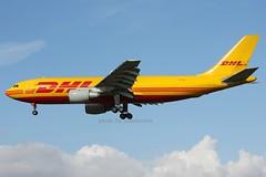 OO-DLI (johnmorris13) Tags: heathrow airbus freighter dhl a300 egll cargoaircraft a300b4 oodli europeanairtransport n206pa