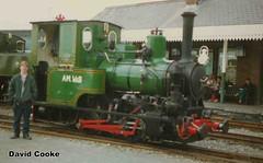 P5141 RTC & AB 0-4-0T No.6 Douglas @ Towyn, Talyllyn Rly. 9.96 (davidncooke_686) Tags: wales train railway steam locomotive ng gauge narrow