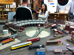 MIT TMRC (Tech Model Railroad Club) open house. 17 Nov 2012 (Chris Devers) Tags: railroad train modeltrain mit ho scalemodel hotrain tmrc massachusettsinstituteoftechnology techmodelrailroadclub exif:exposure=0067sec115 exif:iso_speed=160 exif:focal_length=39mm exif:aperture=f28 camera:make=apple exif:flash=offdidnotfire camera:model=iphone4 exif:orientation=horizontalnormal exif:filename=dscjpg meta:exif=1357693166