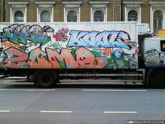 Truck (joeppo) Tags: london graffiti cha kool zomby 10foot ldngraffiti
