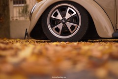 Autumn Lows (Tom.Wheatley) Tags: car vw bug volkswagen 50mm nikon low beetle d70s automotive porsche 1967 nikkor f18 rims 67 slammed stance 914 rhd worldcars stanceworks