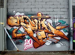 Scien One (neppanen) Tags: usa streetart newyork brooklyn america graffiti taboo nuevayork sonet cmr scien discounterintelligence sampen scienone