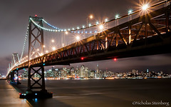 """Mission: Impossible""- Bay Bridge, San Francisco, CA (:Explored:) (Nicholas Steinberg photography) Tags: sanfrancisco california city nightphotography november rain northerncalifornia skyline clouds landscape treasureisland scenic nicholas baybridge steinberg yerbabuenaisland rareshots nikond300"