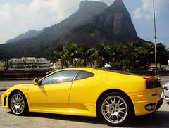Giallo Modena (ThiagoLP_700) Tags: brazil yellow ferrari exotic giallo coupe f430 capristo ferrarif430coupe giallomodena thiagolp700