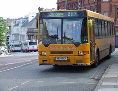 Sanders (M834 RCP) (M. Webster) Tags: bus norwich services coaches sanders daf ikarus citibus sb220 m834rcp