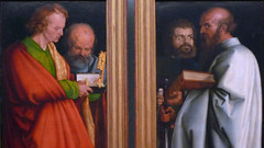 Dürer, The Four Apostles close