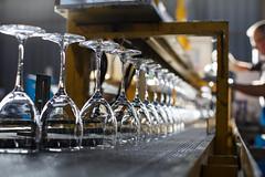 Les verres de la société Arc, entreprise lauréate des Trophées Développement Durable de Carrefour en 2012