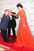 Neil Sedaka, Dennis Basso and Coco Rocha The Silver Hill 2012 Gala New York City