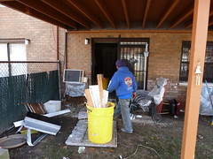Queens NY hurricane Sandy damage item removal (The Trash it Man) Tags: hurricane cleanup howardbeach hurricanecleanup flooddamagecleanup hurricanesandy sandyaftermath hurricaneflooddamage