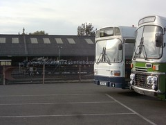 NPD145L & AFJ692T at New Romney 9th September 2012. (East Kent 7681) Tags: richboroughpowerstation leylandtitan bristolvr romneyhythedymchurchrailway chillifarm npd145l skl681x prestonsteamrally afj692t wko137s t553 eastkentshow nuw553y pke807m hig5681