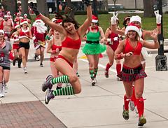 1st Annual Santa Swimsuit Run (Heartland Images Photography) Tags: usa wisconsin theater madison madisonwi majestic charityfundraising madison365 santarun2012 sponsoredbymajestic swmsuitrun