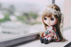Reflections (prettyinthekitchen) Tags: very blythe custom vicky fbl chinalilly