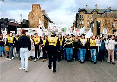 Image titled M77 Protest March 1990s