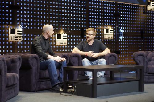 Phil Bosoa, CEO, LIFX & Marco Montemagno