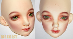 Alter-ego (meenist faceups) Tags: ball doll bjd commission leda jointed faceup limhwa meenist tinyjewelsshop