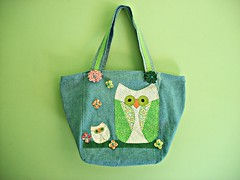 bolsa coruja patchwork (cristina cordeiro) Tags: arte artesanato fuxico patchwork bolsa reciclagem bolsas tecido acessórios sacola bolsafeminina bolsadetecido bolsajeans bolsacompatchwork bolsacomcoruja