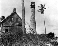 Cape Florida Lighthouse (State Library and Archives of Florida) Tags: lighthouses florida seminoles keybiscayne biscaynebay dadecounty referencecollection capefloridalighthouse aidstonavigation historiclighthouses statelibraryandarchivesofflorida historicpreservationmonth secondseminolewar18351842 gwromer