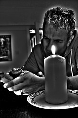 What is it? (simonwaroberts) Tags: candle whatisit lovecraft mysterious creature hdr