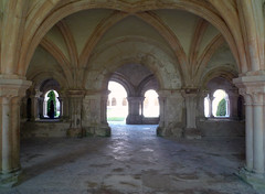 Chapter House Looking Toward CloisterAbbaye de Fontenay
