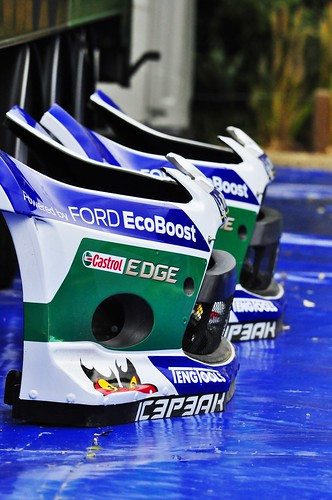 Ford Fiesta RS WRC ; Bumpers