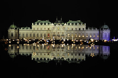A Very Belvedere Christmas! (Saumil U. Shah) Tags: vienna wien christmas travel wallpaper people holiday reflection castle heritage history tourism monument beautiful architecture night shopping weihnachten austria navidad sterreich europe advent wine market drink joy culture royal cider noel palace weihnachtsmarkt tourist glhwein historic chestnuts imperial belvedere cheer merry tradition schloss osterreich regal desktopwallpaper shah mulled kartoffelpuffer maroni christkindlmarkt saumil punsch adventmarkt saumilshah adventmrkte