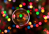 Mr. Bubbles and his colorful friends (Proleshi) Tags: christmas reflection colors 50mm lights navidad nikon colorful bokeh colores christmaslights bubble burbuja multicolor josephs jamal pompadejabón 50mm14afs proleshi