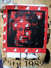 Queen street art, Shoreditch (duncan) Tags: streetart stencils london stencil queen shoreditch thequeen hermajesty