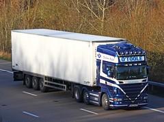 Scania R620 08-G-7705 (gylesnikki) Tags: blue ireland irish truck artic otoole