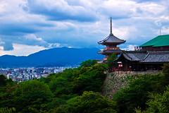 Kiyomizudera, Kyoto (Arutemu) Tags: city travel japan landscape temple japanese kyoto cityscape view   kansai japonesa  japon kiyomizudera japones ville  japonais     japonaise
