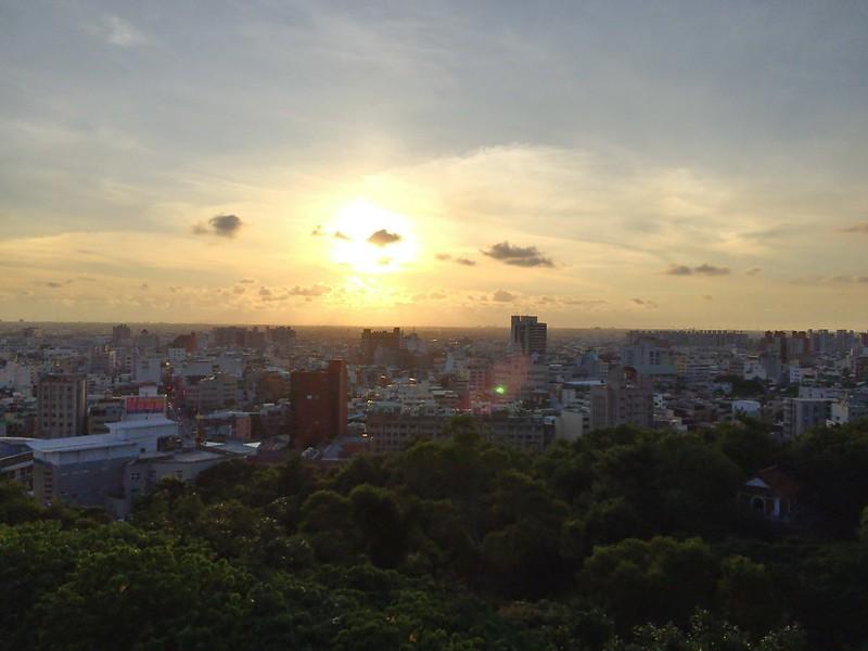 彰化八卦山夕陽