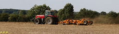 Its that time of year again (P.P.P ( point - press - pray )) Tags: tractor disks masseyferguson stuble