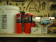 Peterson's Hardware (mattheuxphoto) Tags: petersonshardware lemont illinois lemontillinois hardware hardwarestore suburbanchicago closing store junkstore historic chicagoland bernzomatic oxygen