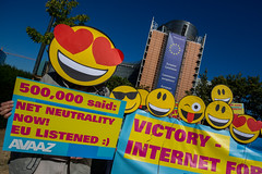 Victory - Internet for all (Avaazorg) Tags: brussels belgium europe eu net neutrality netneutrality