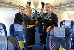 Flight DME-NSK Nordstar Airlines (Osdu) Tags: crew stewardess stewardes nordstar people airlines cabin inflight aircraft airplane avion aeroplano aereo  vliegtuig aviao uak  samolot flugzeug luftfahrzeug flygplan lentokone aeroplane  letoun fastvingefly avin lennuk  flugvl aroplanum    htessedelair hostess airhostess avia aviation flightattendant norilsk