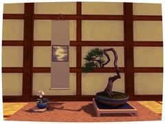 Bonsai SL Shot (cube.republic) Tags: firestorm secondlife literati bonsai pine zbrush blender hosta wood secondlife:region=channel secondlife:parcel=thecuberepublicstoreunderconstruction secondlife:x=213 secondlife:y=120 secondlife:z=3798