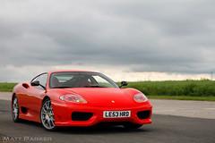 Stripeless (MJParker1804) Tags: ferrari 360 challenge stradale cs v8 rosso corsa italian supercar